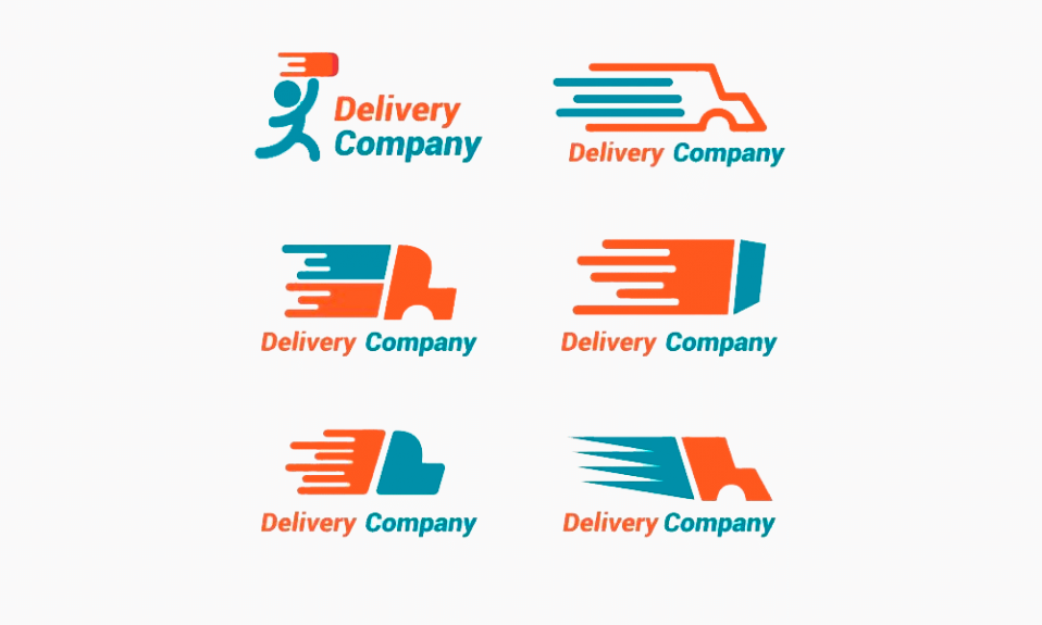 Delivery logos