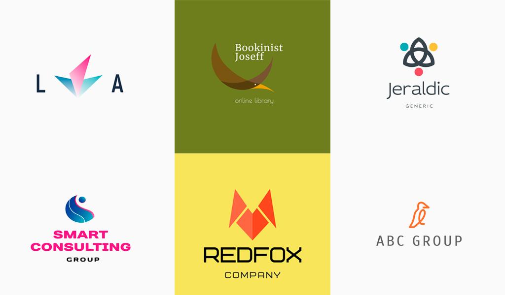 Abstract logos