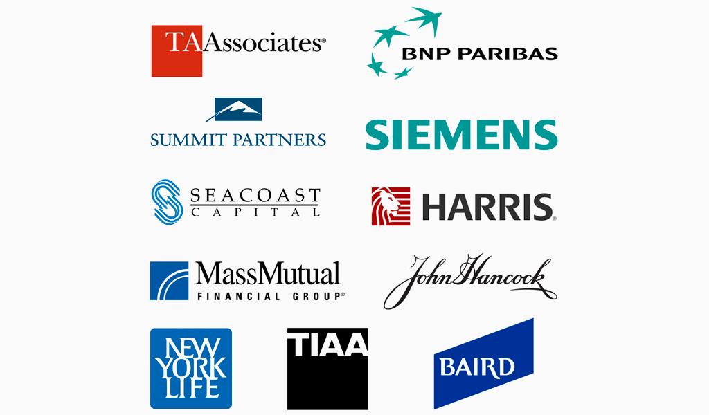 Logos financial firm