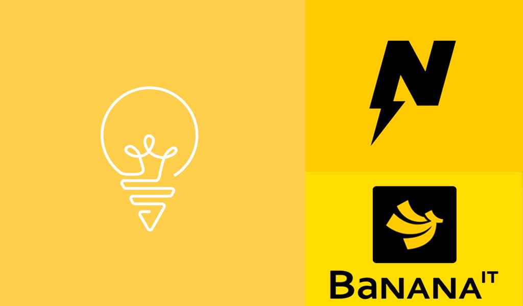 Yellow logos 2
