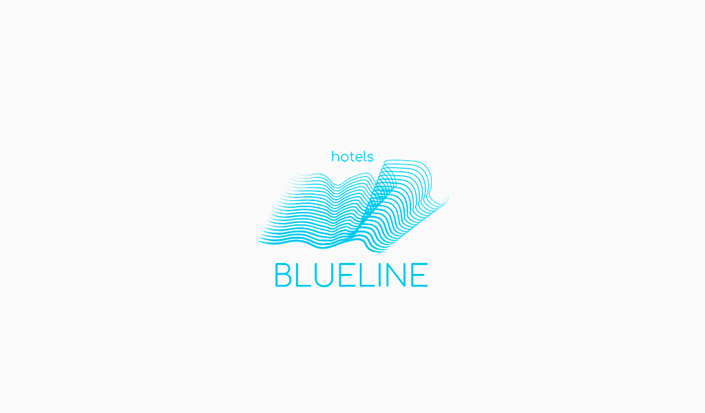 Blue Spiral Wave Logo