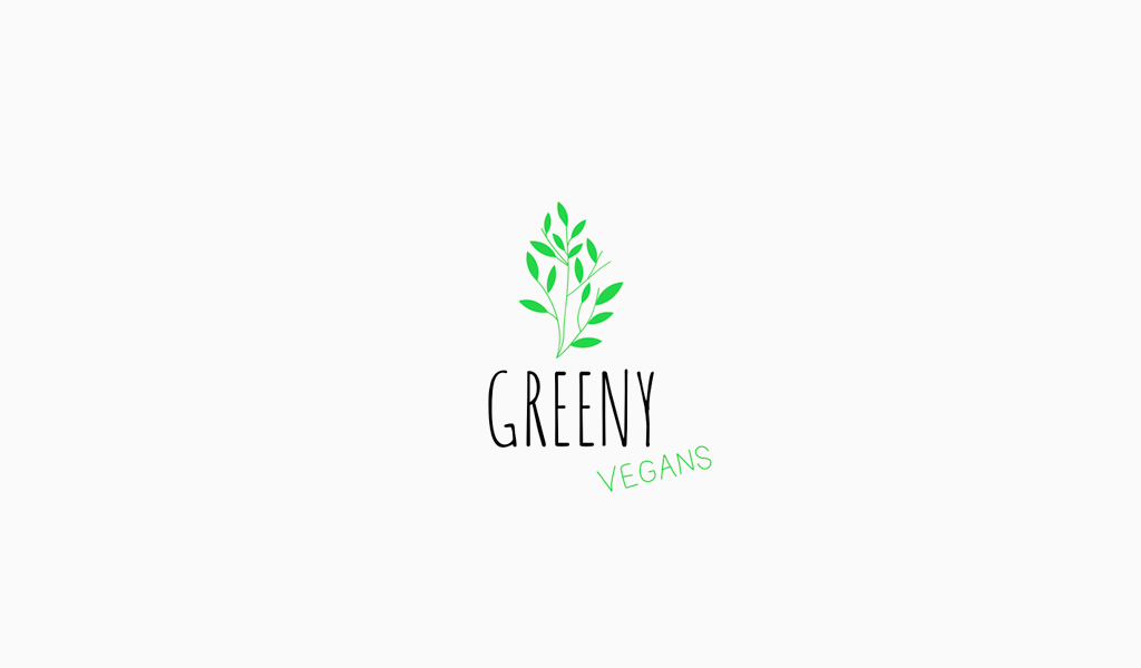 Green Plant Logo Design