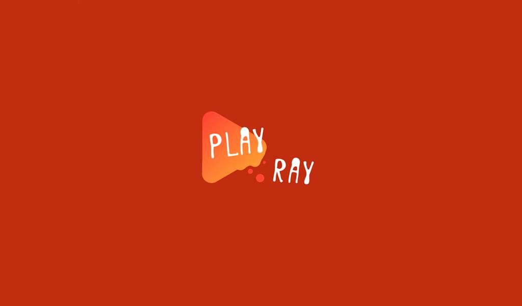 Orange Play Icon Logo