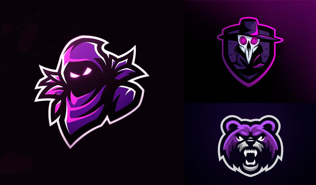 mascot gaming logos