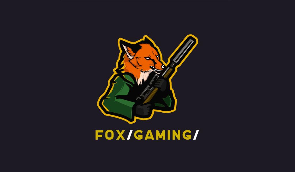 Fox Weapon Gaming Logo mascot
