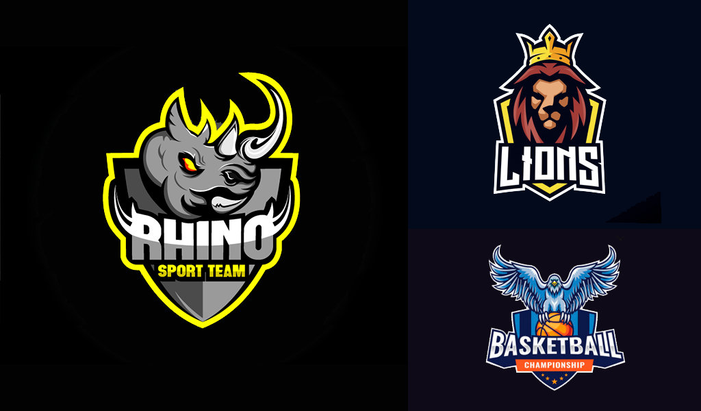 mascot sports team logos