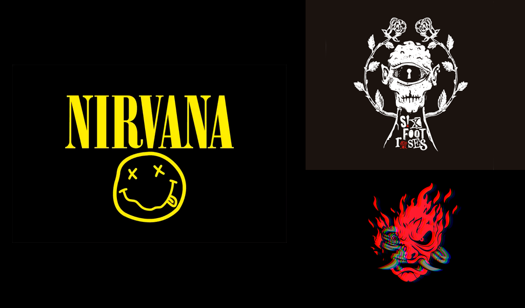 band logos mascot