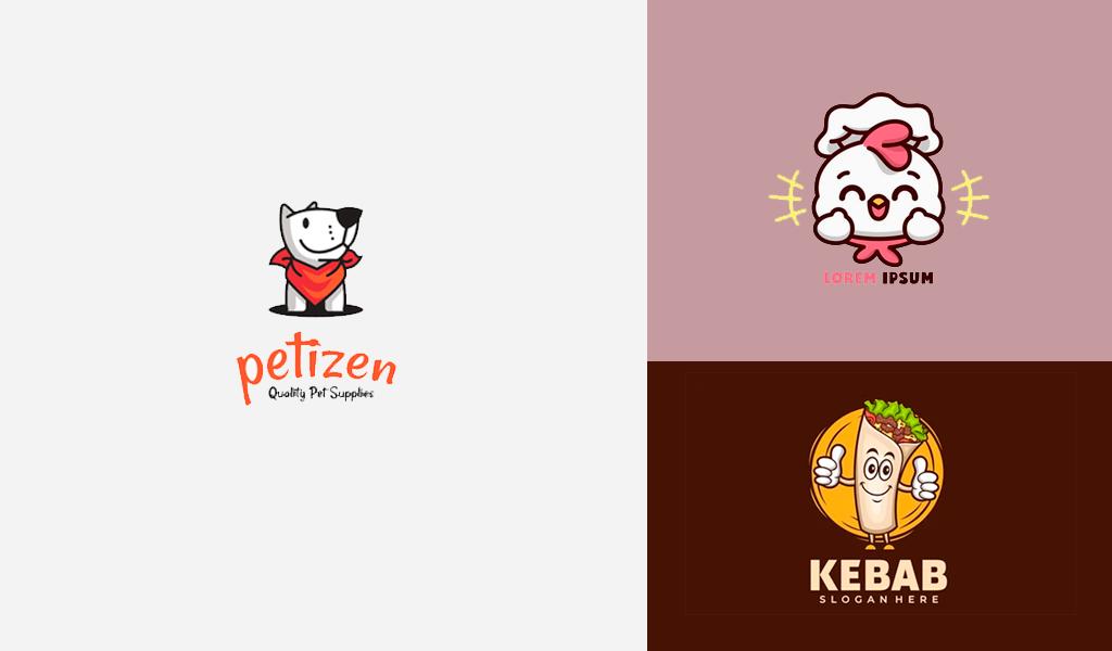 mascot restaurant logos