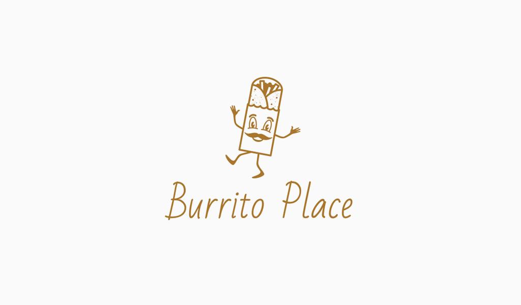 burrito mascot logo
