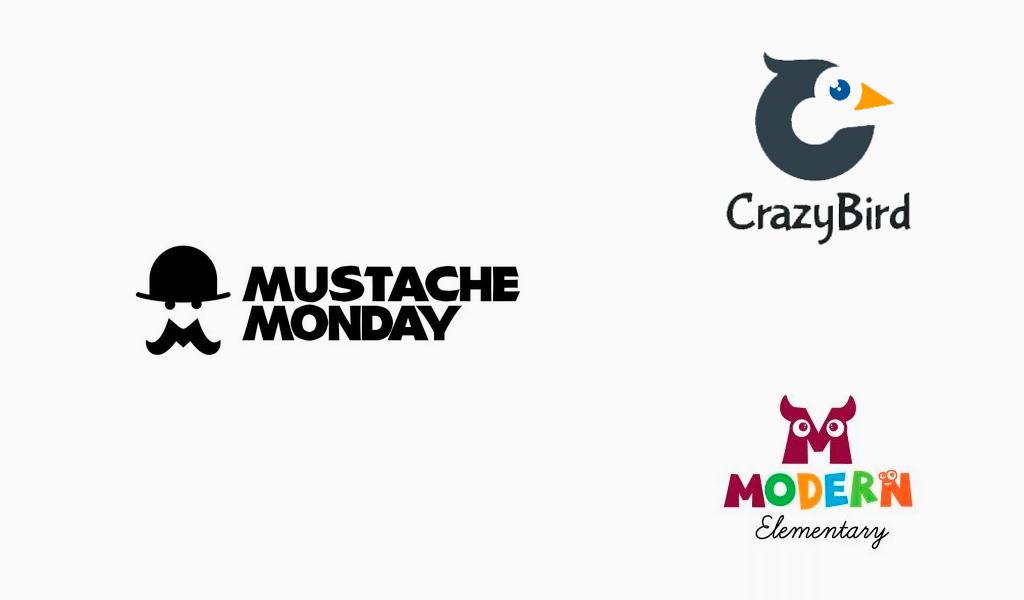 mascot letters logos