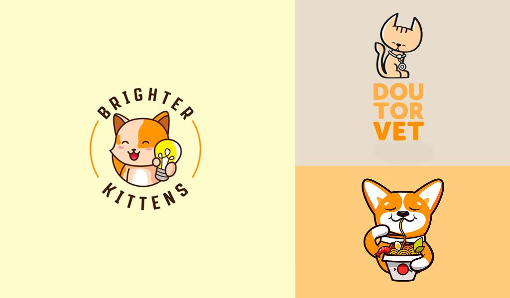 animals mascot logos