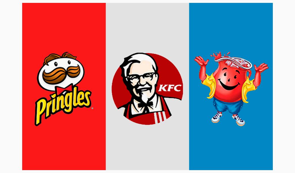 Famous mascot logos