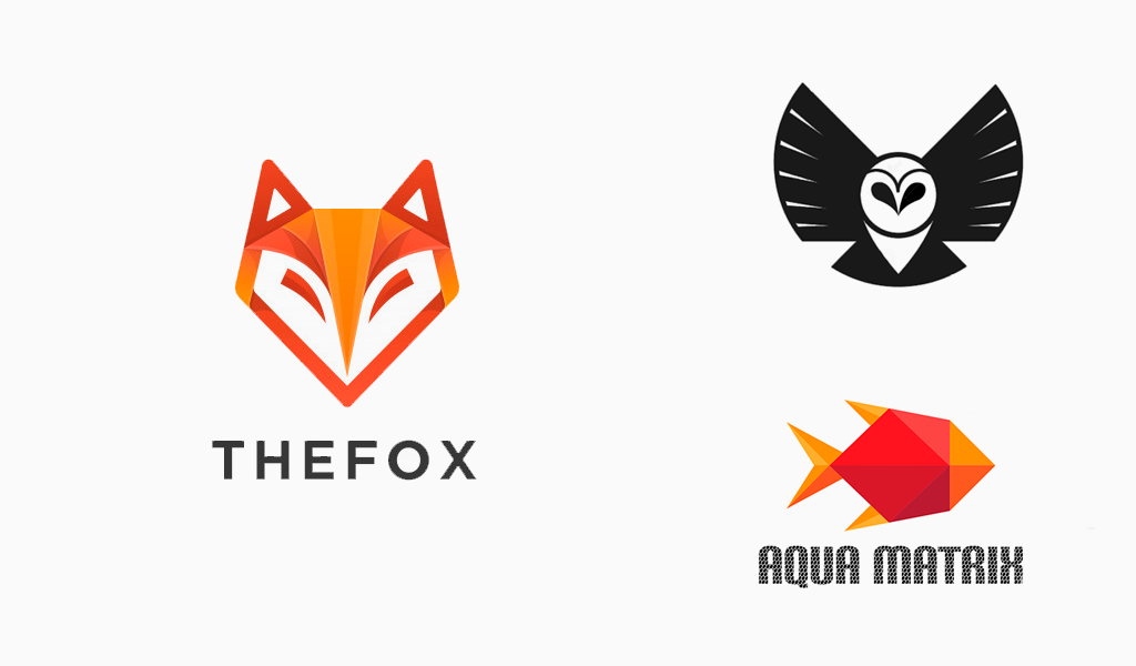 mascot geometric logos