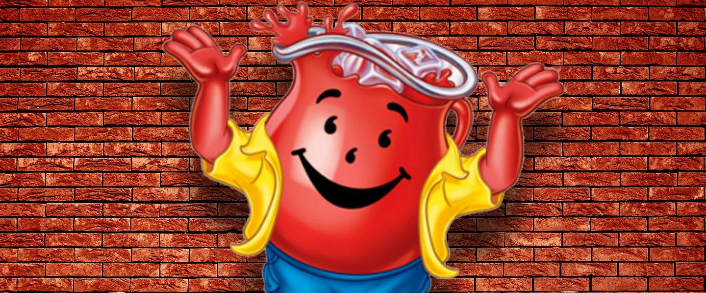 Kool-Aid Man logo mascot