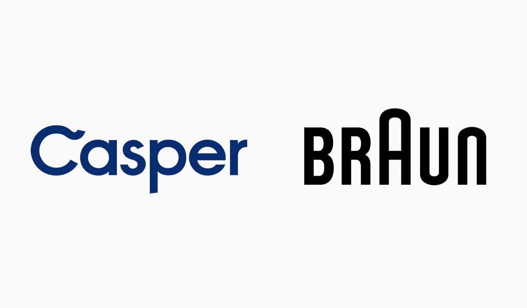 casper and braun logos