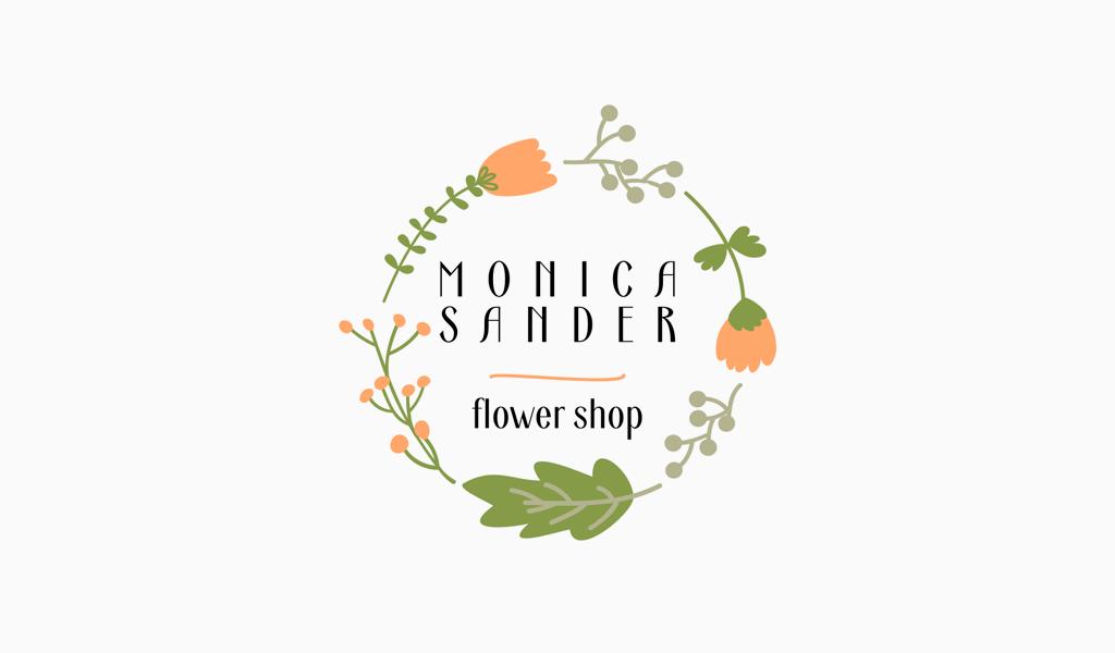 Wreath Of Flowers Logo
