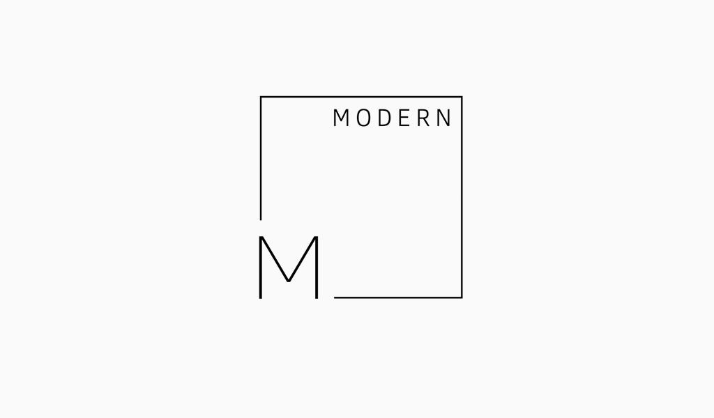 Letter M Square Logo
