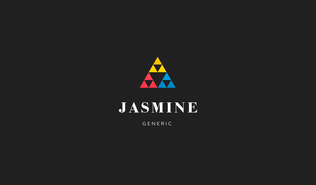 Triangles Abstract Brand logo
