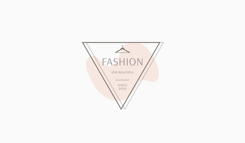 Clothes Hanger Triangle Logo
