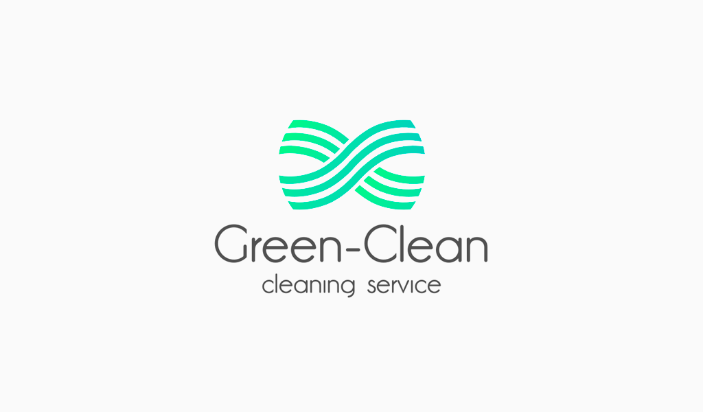 Gradient Lines Cleaning Logo