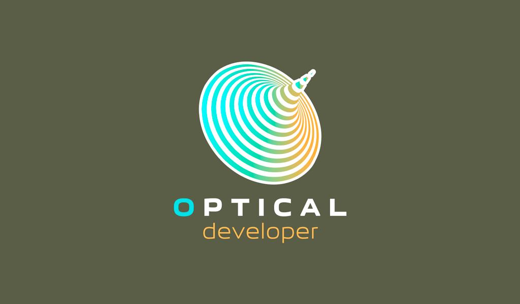 Optical Illusion Gaming Logo