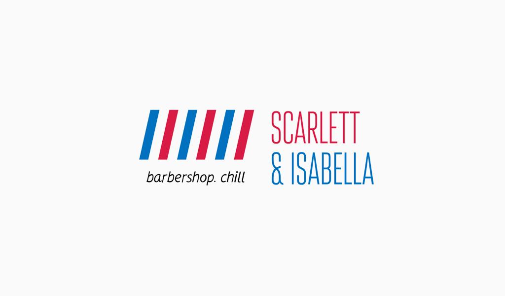 Barber vertical lines Logo