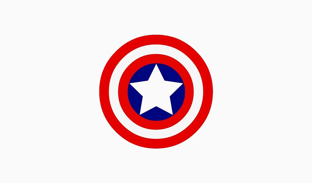 Logotipo de la capitana america