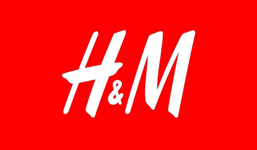 Logo couleur H&M