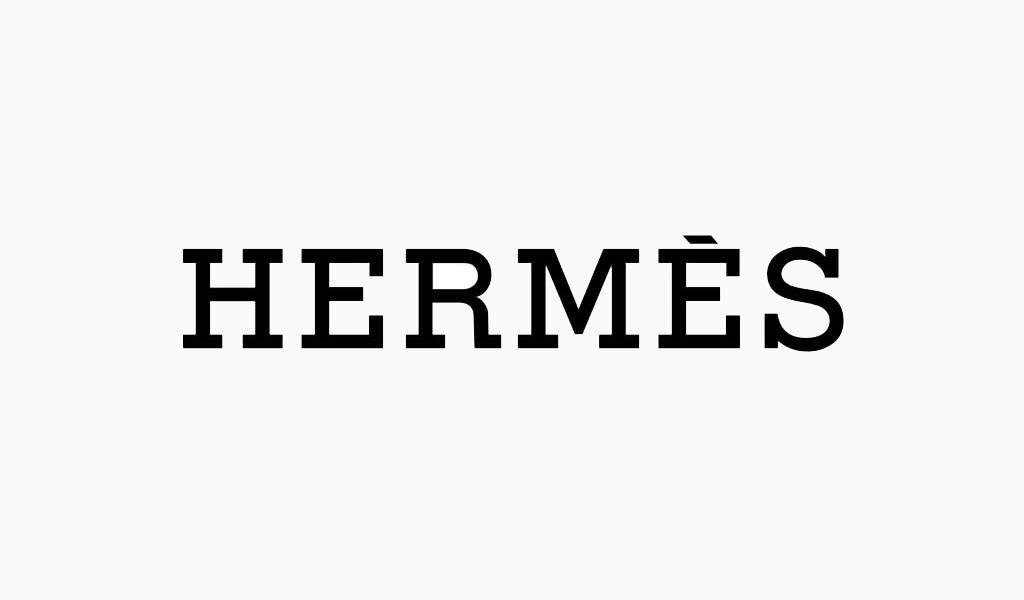 Hermes-Logo-Schriftart