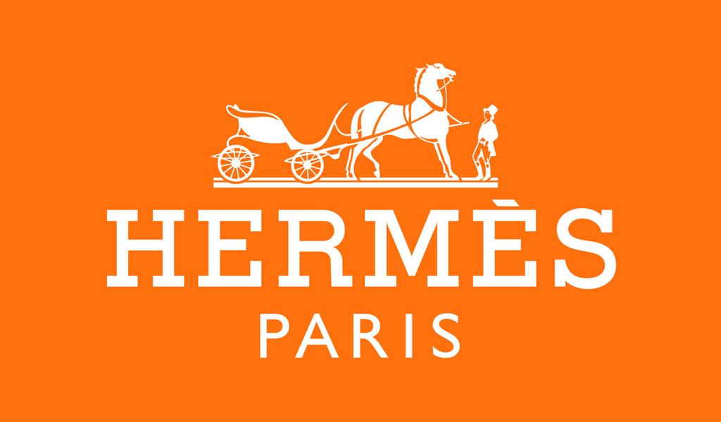 Farbe des Hermes-Logos