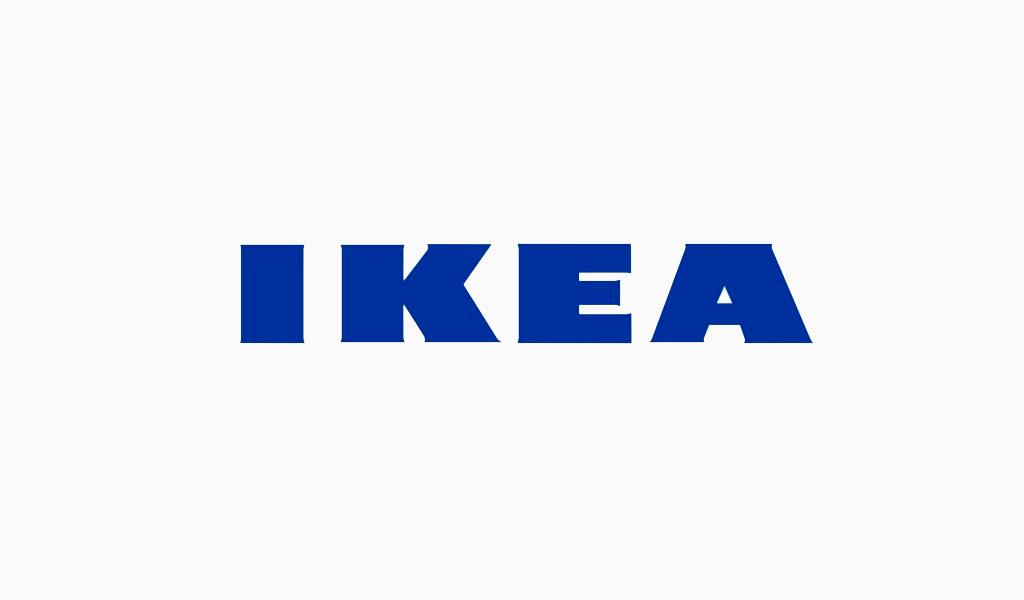 ikea logo schrift