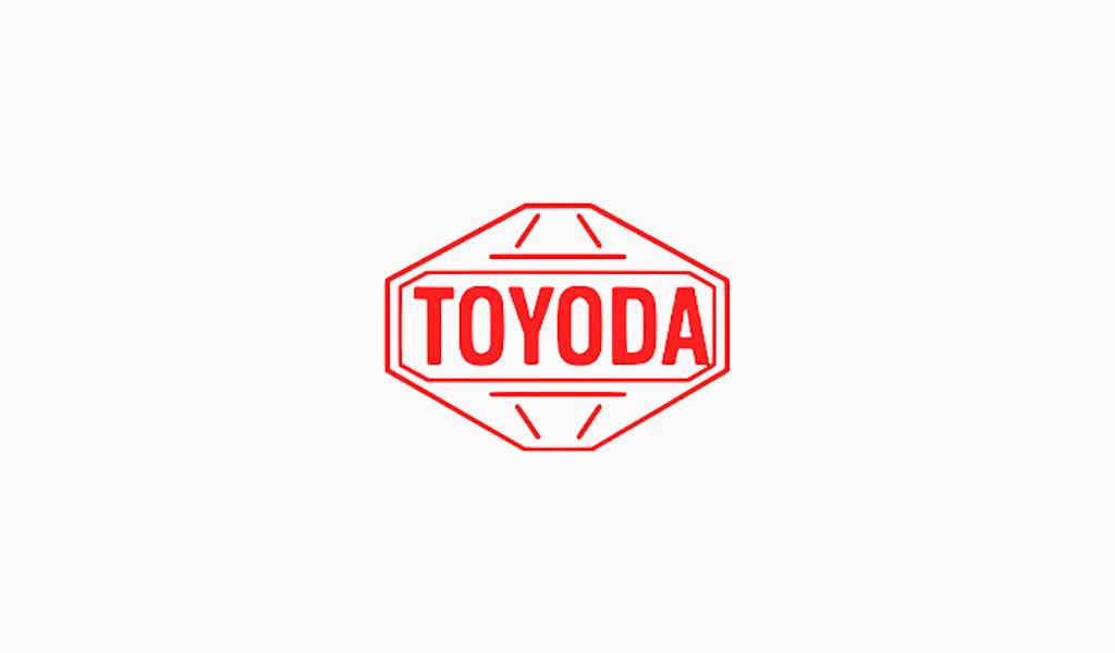 Primer logotipo de Toyota