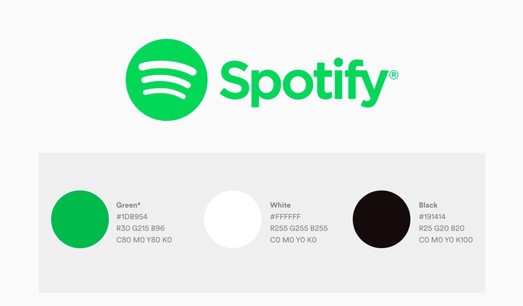 spotify logo farbe