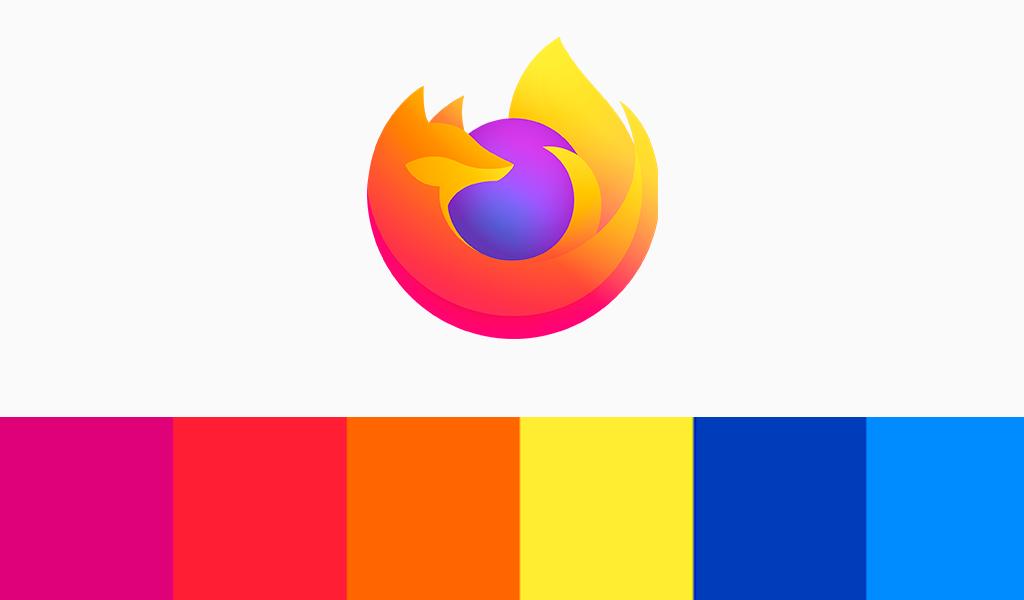 mozilla firefox logo color