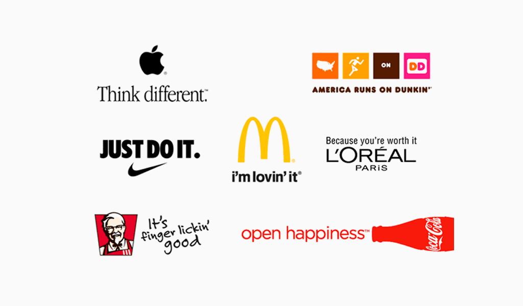 taglines brands