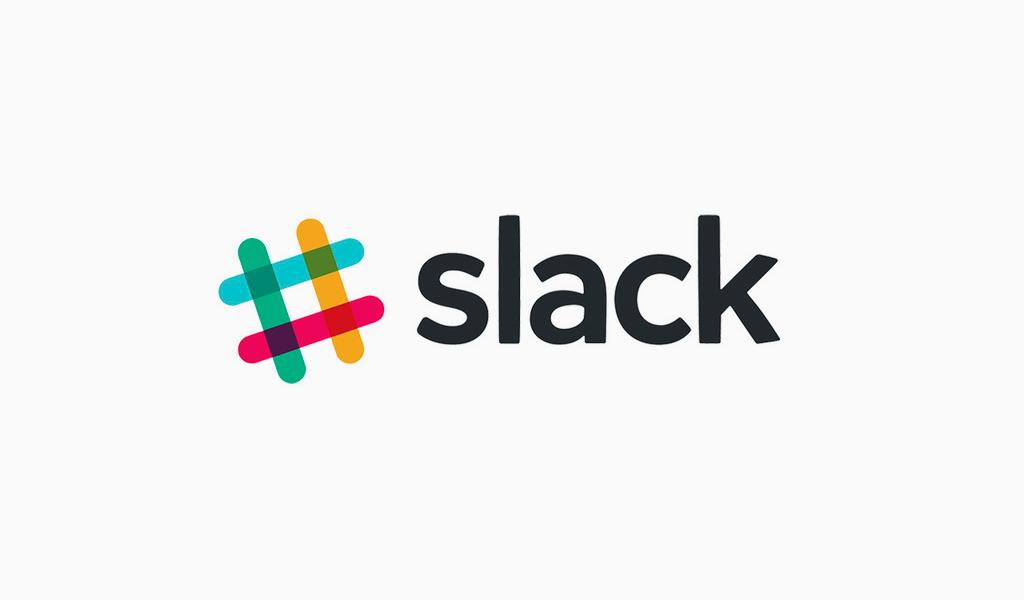 Slack altes Logo