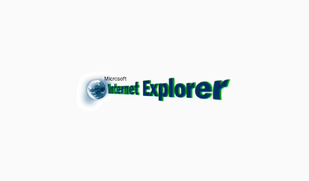 Internet Explorer Logo 1995