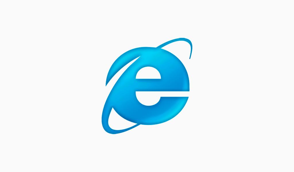 Internet Explorer logo 2001