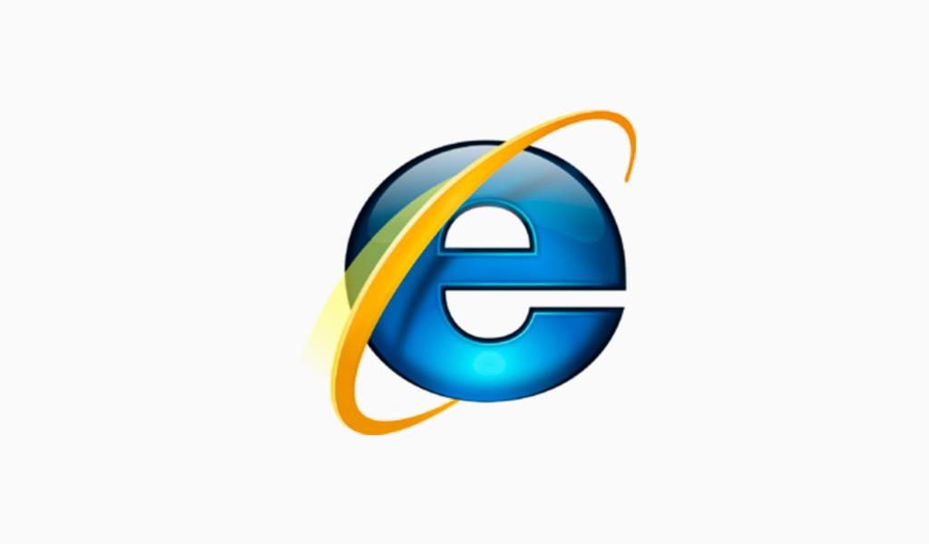 Internet Explorer logo 2007