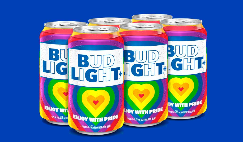 Logotipo do mês do orgulho Bud Light