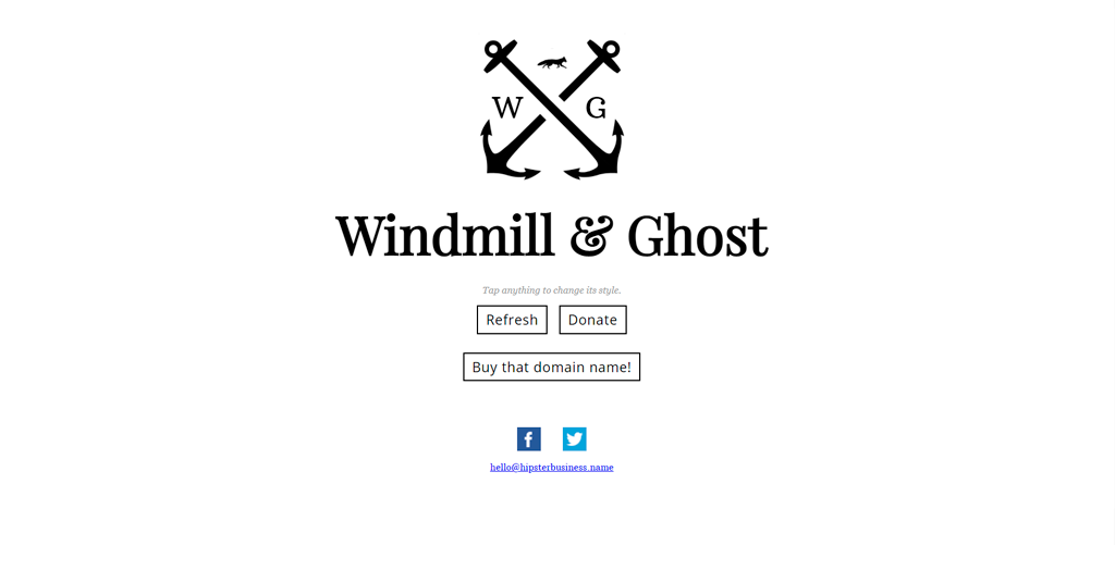 Hipster Business Name