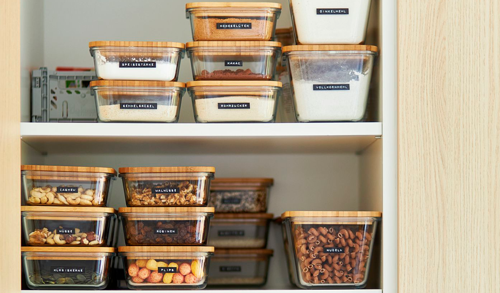 Containers for Household Storage