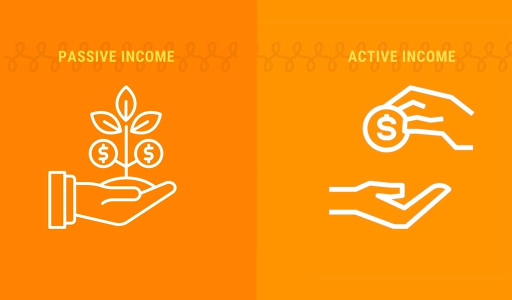 active and passive income
