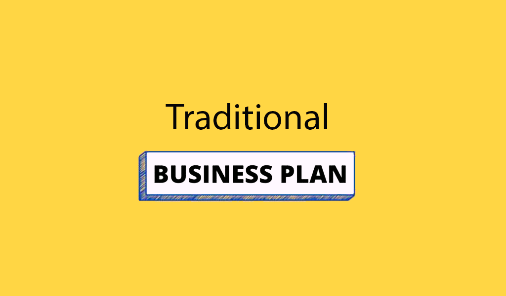 Traditional business plan