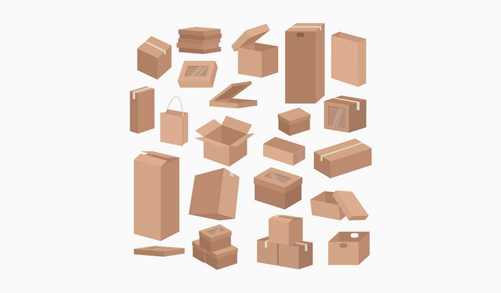types product packaging