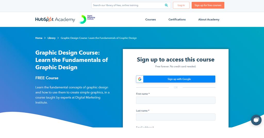 Graphic Design Essentials by HubSpot Academy