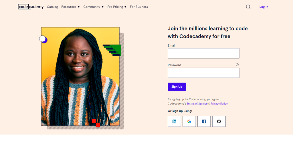 Learn to Code by Codecademy