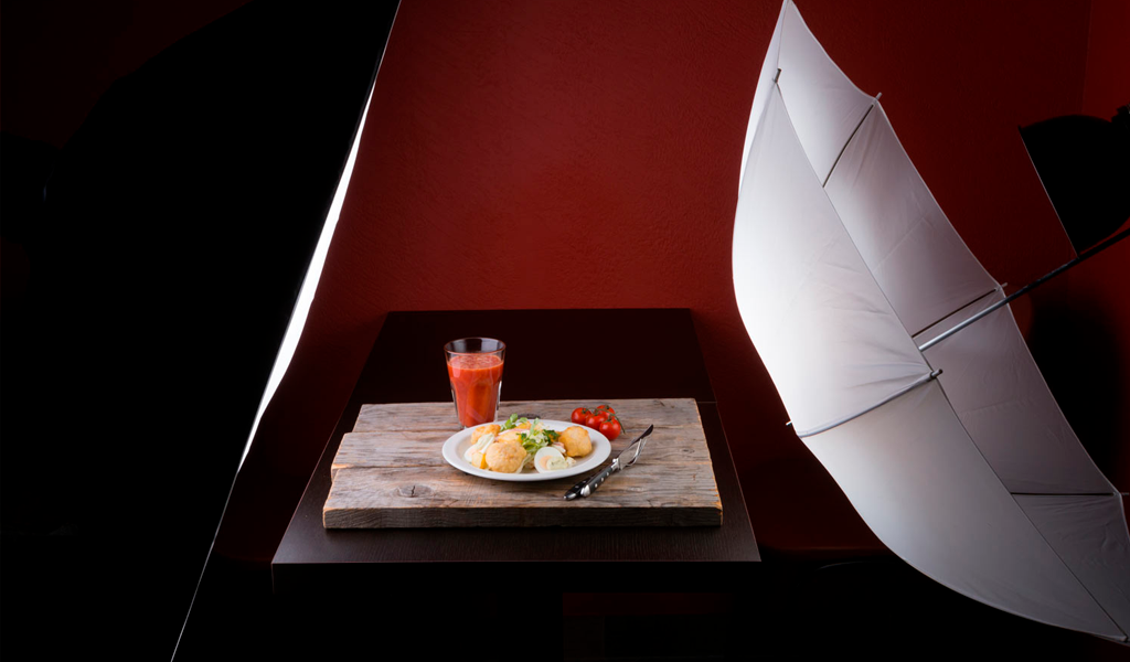 product photography artificial lighting