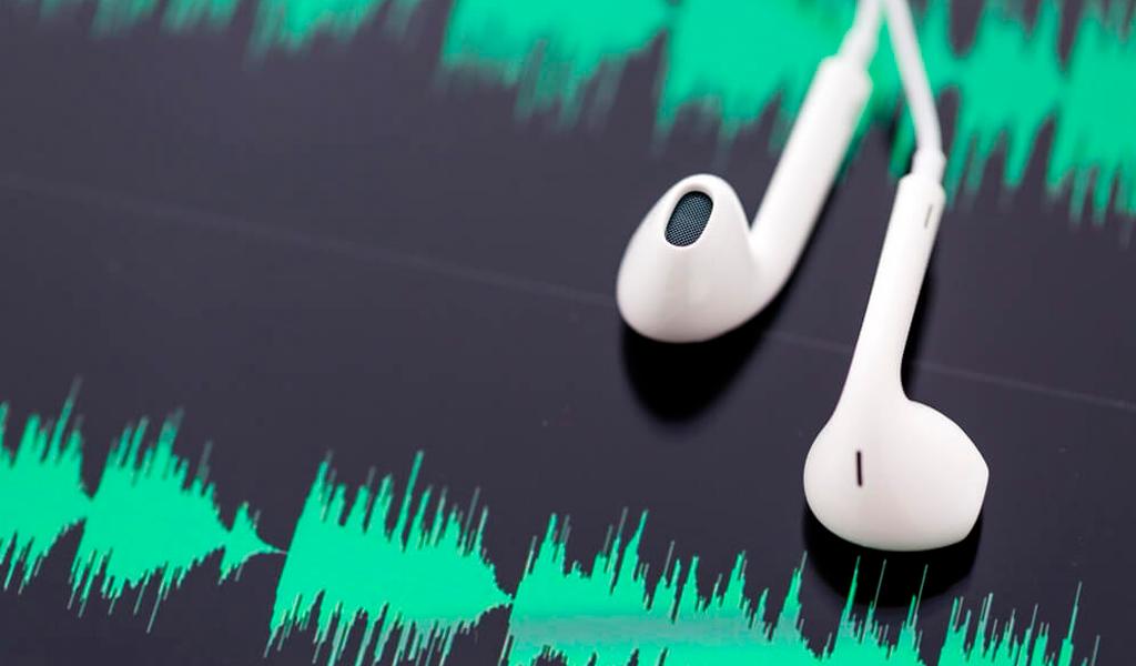 podcast audio track
