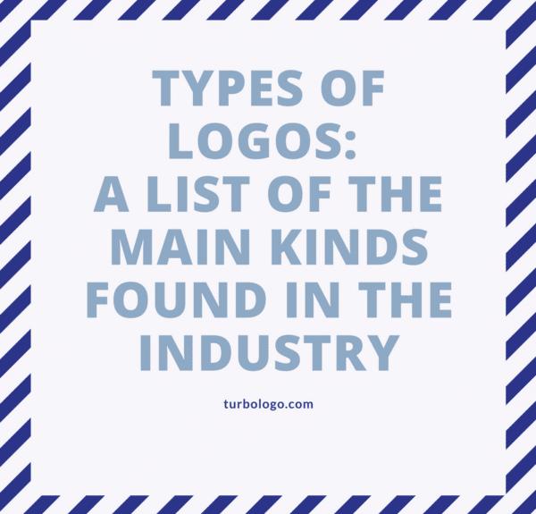 Tipos de logotipos: una lista de los principales tipos que se encuentran en la industria